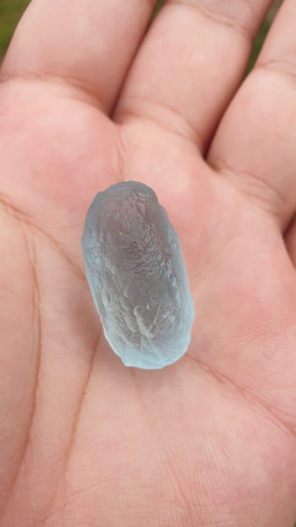 Fish 2-6 - Brahma Eel Pearl A5 - Sky Blue
